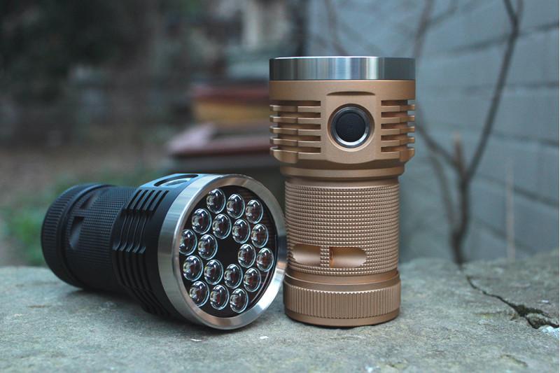 Emisar D18, 3*18650, 14000lm LED flashlight