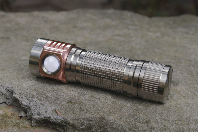 Emisar D4V2 Ti Quad 18650 High Power LED Flashlight
